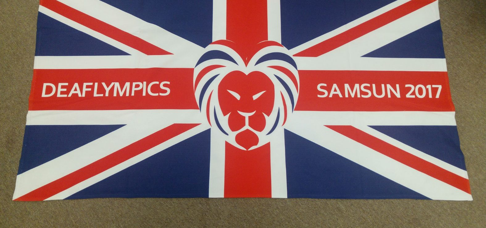 2017 DeaflympicsGB Samsun towel