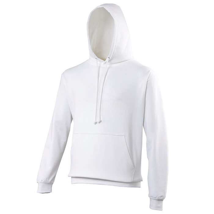 Swimteam College Hooded Sweatshirt Arctic White