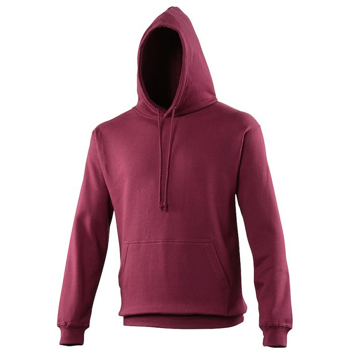 Swimteam College Hooded Sweatshirt Burgundy