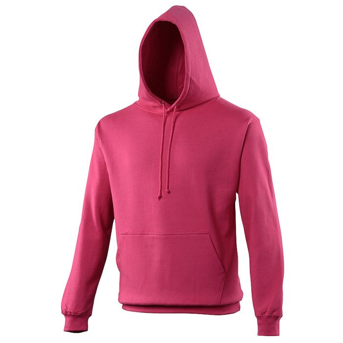 Swimteam College Hooded Sweatshirt Hot Pink