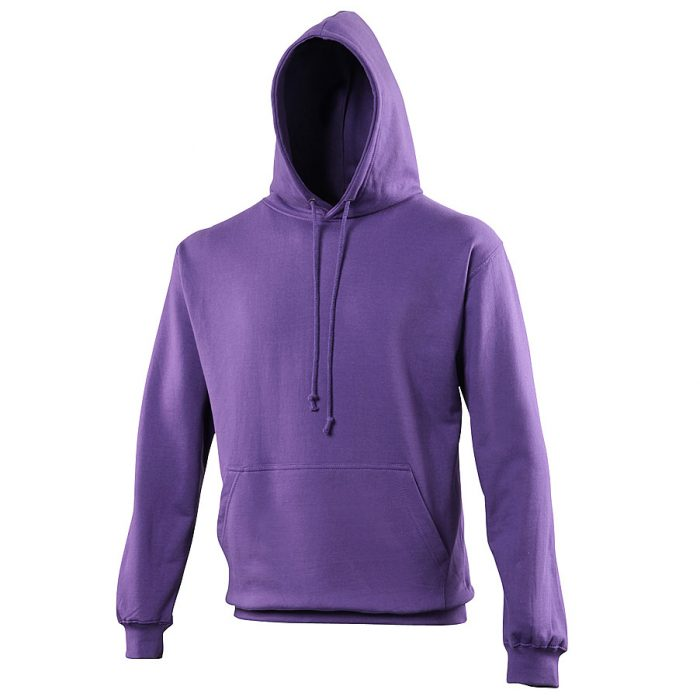 Swimteam College Hooded Sweatshirt Purple