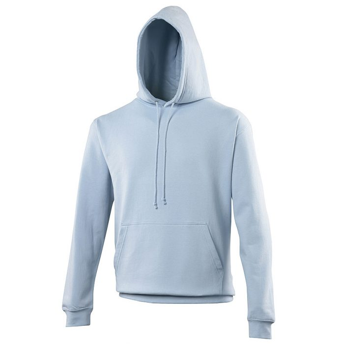 Swimteam College Hooded Sweatshirt Sky Blue