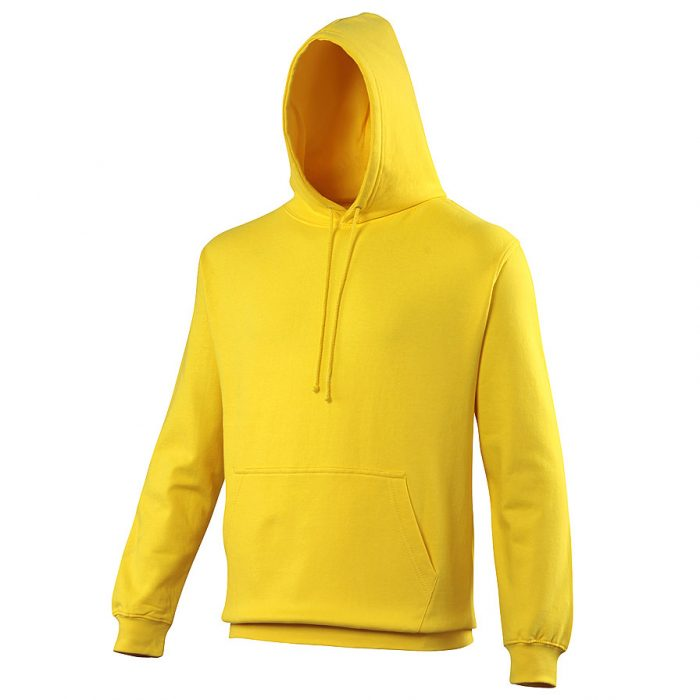 Swimteam College Hooded Sweatshirt Sun Yellow