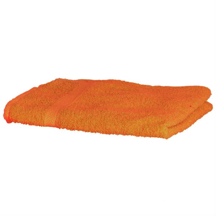 Luxury Swimmers Cotton Towel Orange