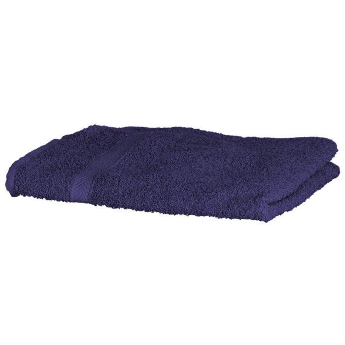 Luxury Swimmers Cotton Towel Purple