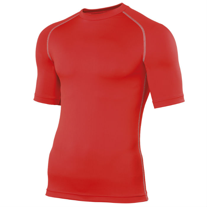 Swim Teachers Rash Vest Red