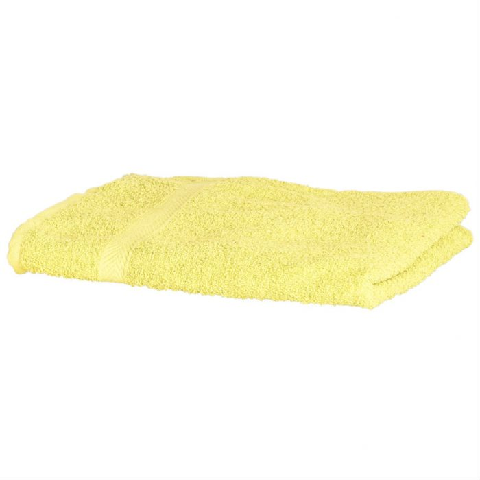 Sports Ultra Dry Swimming Towel Yellow