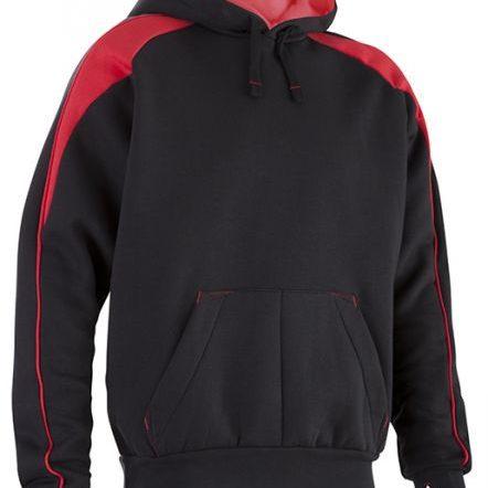 Black Red Premium Hoodie