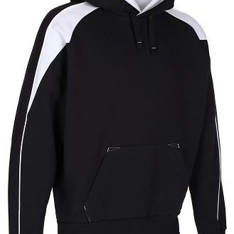 Black White Premium Hoodie