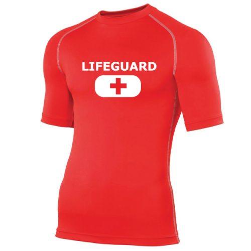 life guard rash tee