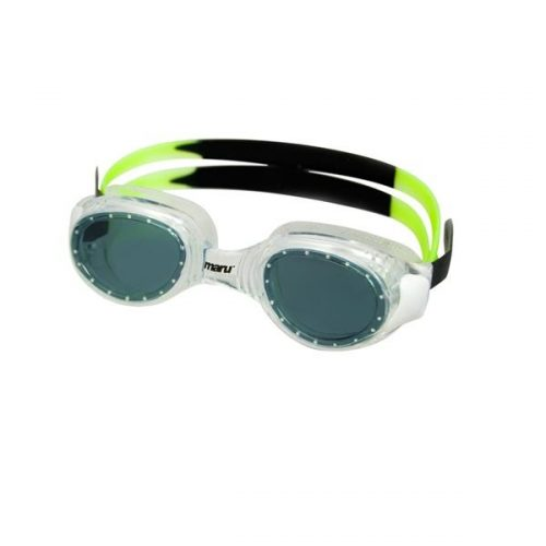 Maru spirit anti fog goggle smoke black lime