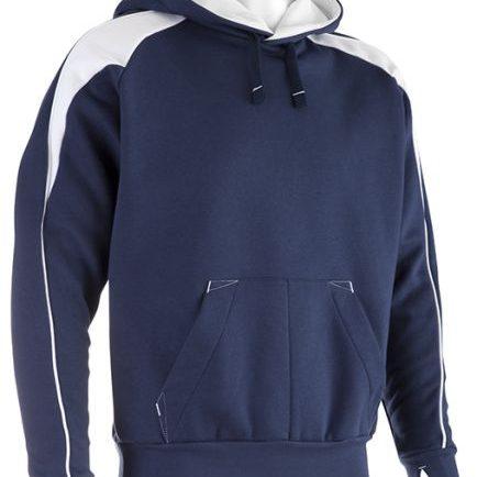Navy White Premium Hoodie