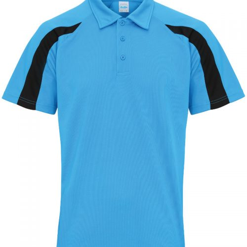 Poolside Contrast Polo Sapphire/Black