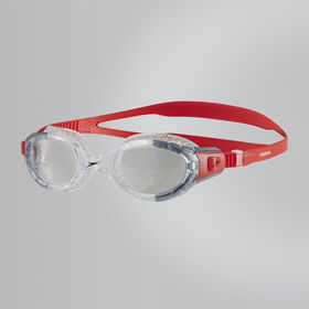 Speedo Futura Biofuse Flexiseal Goggle Lava Red Clear