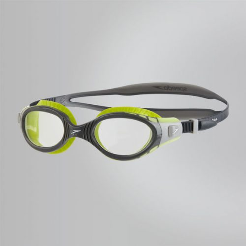 Speedo Futura Biofuse Flexiseal Goggle lime USA Charcoal Clear