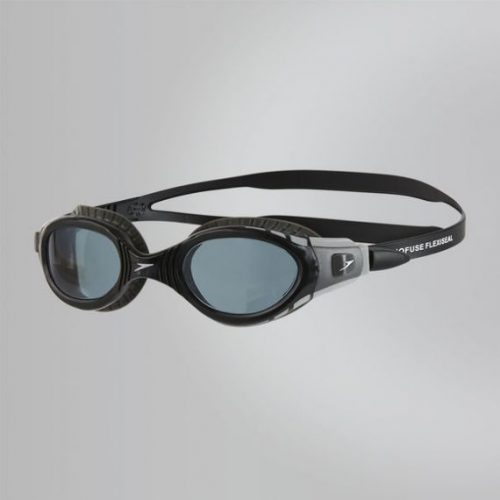 Speedo Futura Biofuse Flexiseal Goggles Internal Cool Grey Black Smoke 1
