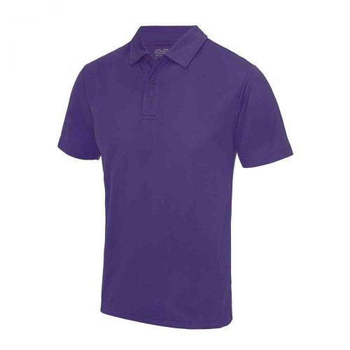 Poolside Polo Shirt Purple