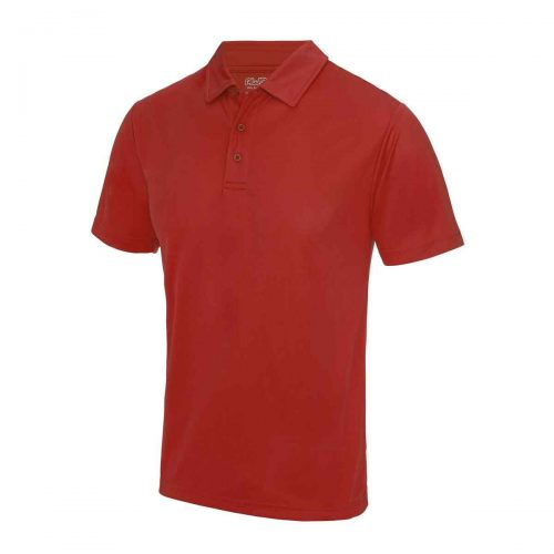 Poolside Polo Shirt Red