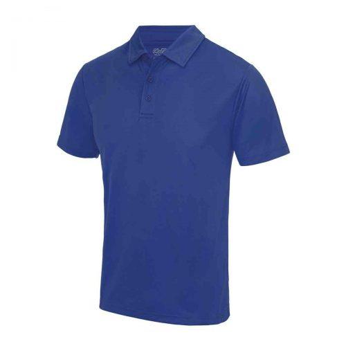 Poolside Polo Shirt Royal Blue