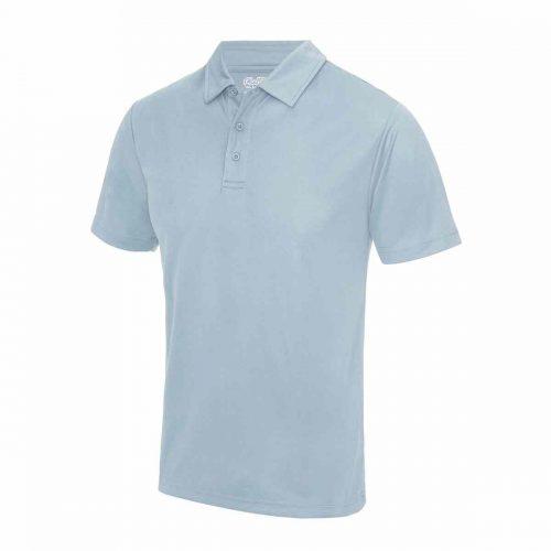 Poolside Polo Shirt Sky Blue