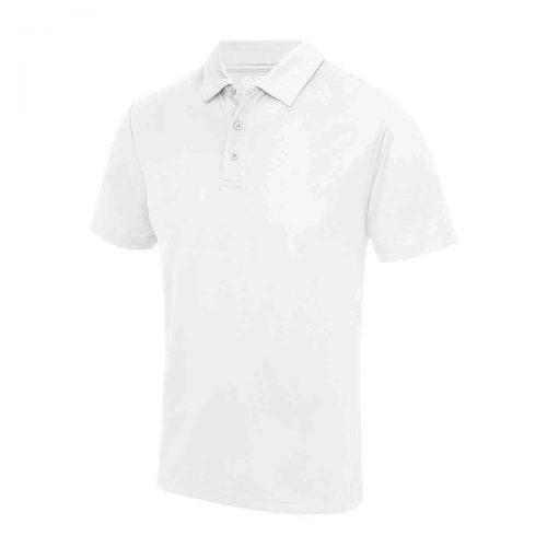 Poolside Polo Shirt White