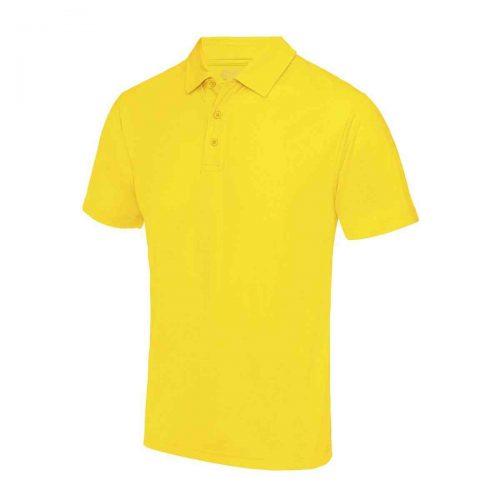 Poolside Polo Shirt Yellow