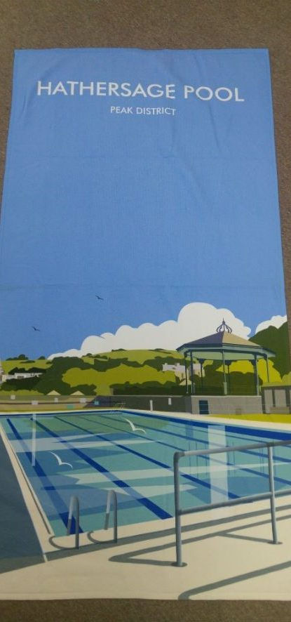 2017 Hathersage Pool towel