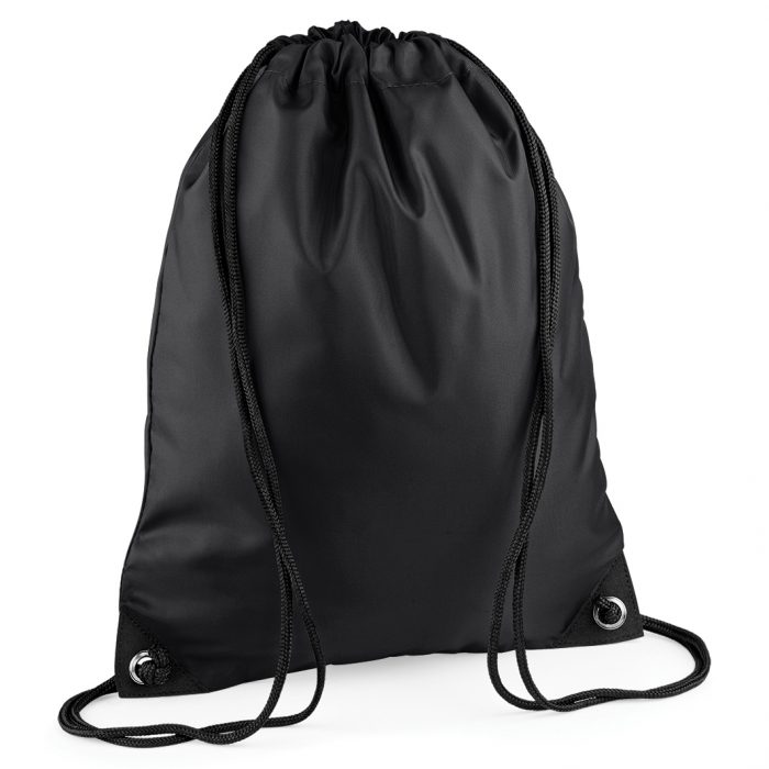 Drawstring Swim Sack Black