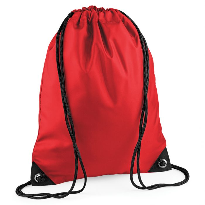 Drawstring Swim Sack Bright Red