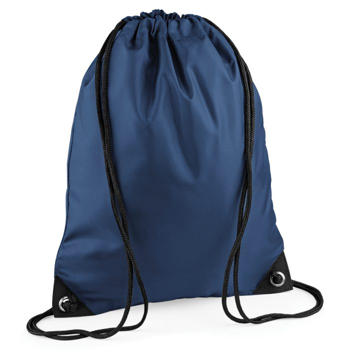 Drawstring Swim Sack French Navy