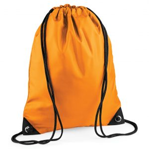Drawstring Swim Sack Orange