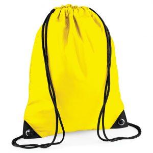 Drawstring Swim Sack Yellow