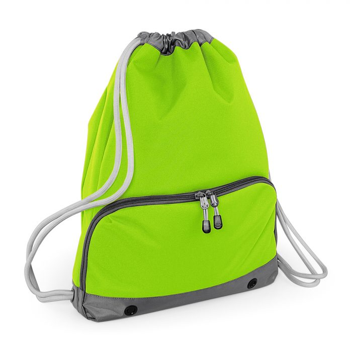 Athleisure Swim Sack Lime Green
