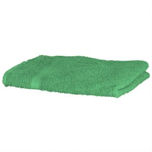 Luxury Swimmers Cotton Towel Bright Green