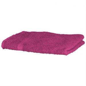 Luxury Swimmers Cotton Towel Fuchsia