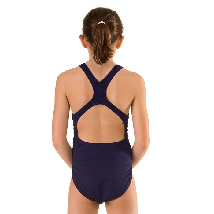 GIRL MEDALIST NAVY BACK
