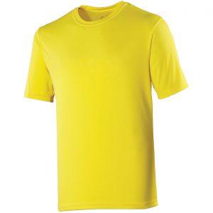 Poolside Polyester Micro Eyelet T Sunshine Yellow