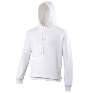 Swimteam College Hooded Sweatshirt Arctic White