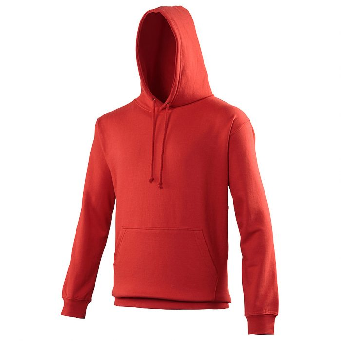 Swimteam College Hooded Sweatshirt Fire red