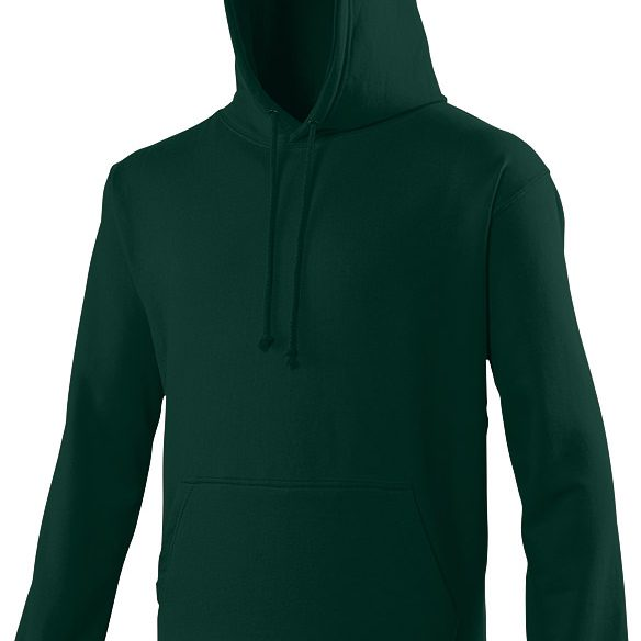 Swimteam College Hooded Sweatshirt Forest Green