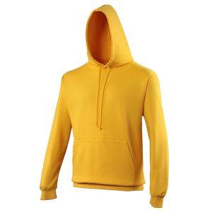 Swimteam College Hooded Sweatshirt Gold