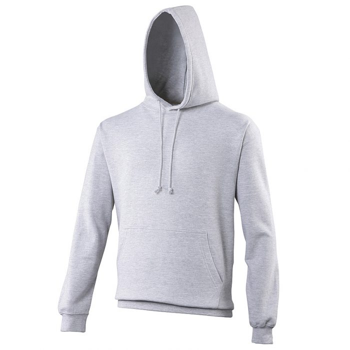 Swimteam College Hooded Sweatshirt Heather Grey