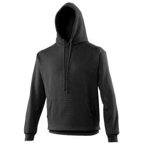 Swimteam College Hooded Sweatshirt Jet Black