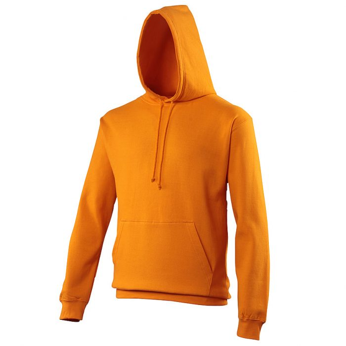 Swimteam College Hooded Sweatshirt Orange Crush