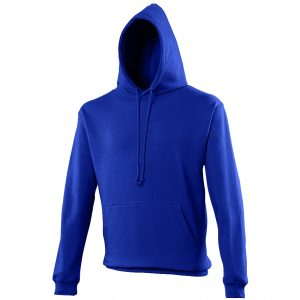 Swimteam College Hooded Sweatshirt Royal Blue