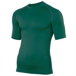 Swim Teachers Rash Vest Bottle Green
