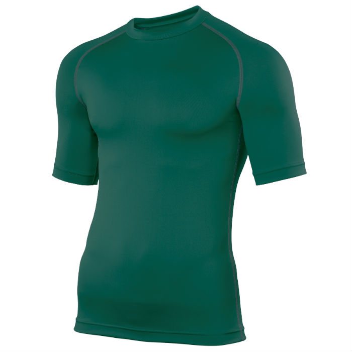 Swim Teachers Rash Vest Bottle Green