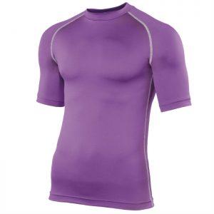 Swim Teachers Rash Vest Purple