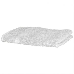 Luxury Swimmers Cotton Towel White