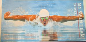 subli printed swim towel
